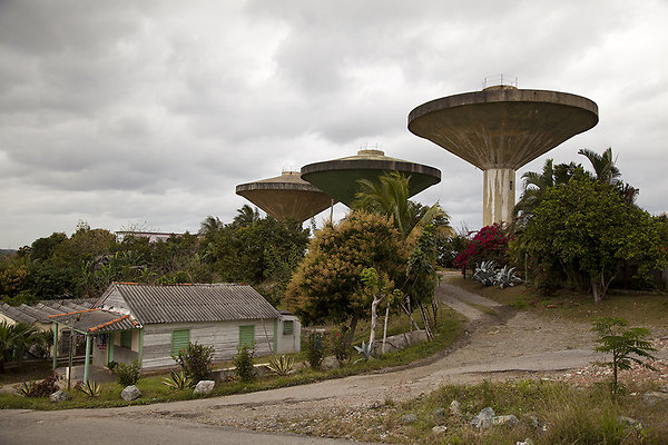 cuban water towers